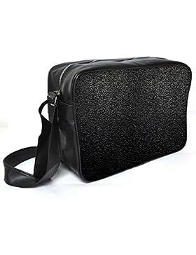 Snoogg verzerrt Formationen Leder Unisex Messenger Bag für College Schule täglichen Gebrauch Tasche Material PU