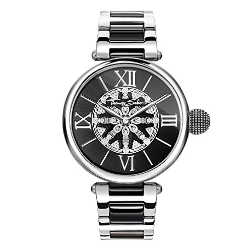 Thomas Sabo Damen-Armbanduhr WA0298-290-203-38 mm