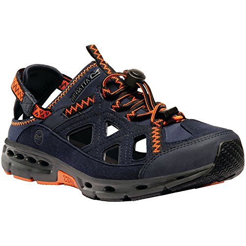 Regatta Mens Ripcord Sandal Navy/Magma