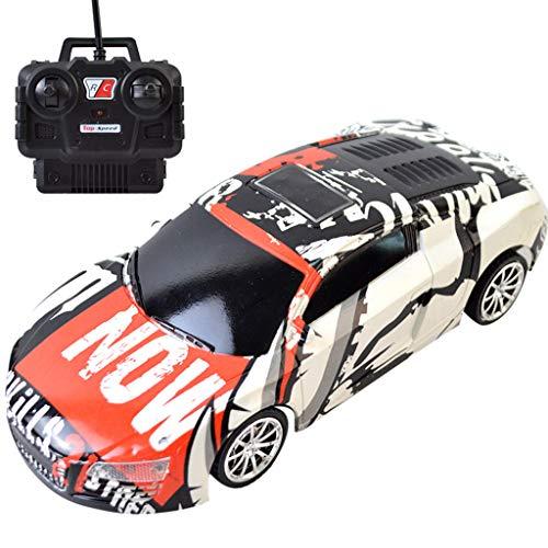 Fcostume RC Auto Electric Racing Drift Auto 1/24 4WD Radio High Speed Racer Auto für Kinder (C)