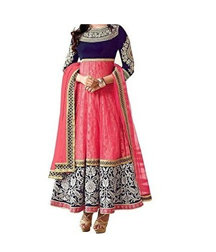 Woman style Women's Georgette Salwar Suit Dress Material
