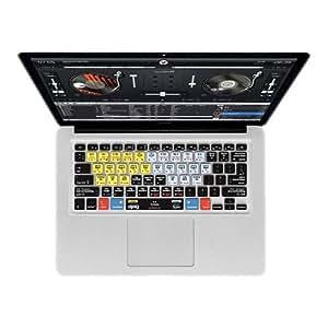 """KB Covers djay V4 QWERTY Housse pour Clavier MacBook Air 13""""/Pro Transparent DJ-M-CC-2"""
