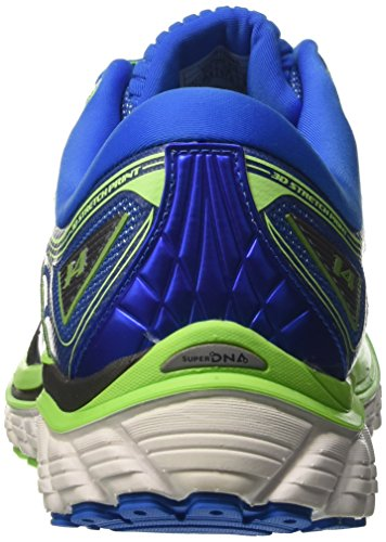 Brooks Glycerin 14, Chaussures de Course Homme Vert (Green Gecko/electric Blue Lemonade/anthracite)