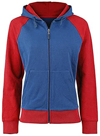 Bioworld - Sweat-Shirt Marvel Civil War - Captain America Femme Taille S - 8718526371062