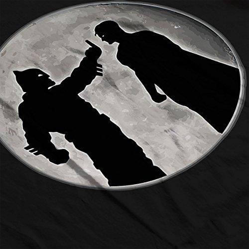 Superman Vs Batman Men's Vest Black