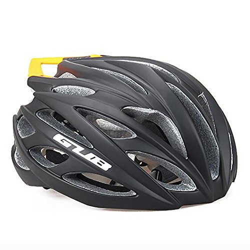 MIAO Fahrradhelm - Outdoor-Sportarten Road / Mountain Bike Kohlefaser Fahrradhelme mit Schwanz , black