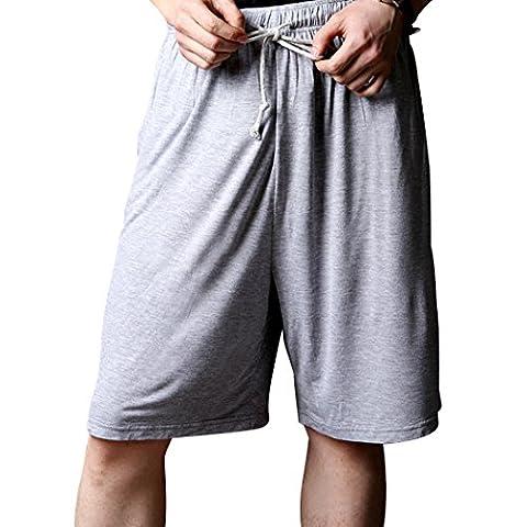 WALK-LEADER - Bas de pyjama - Uni - Manches Courtes - Homme - gris - XXX-Large