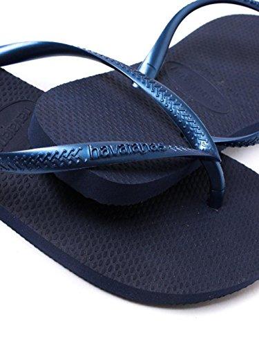 Havaianas Zehentrenner Slim Marineblau