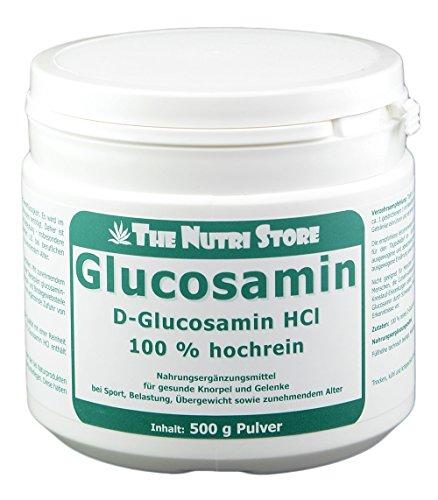 GLUCOSAMIN 100% rein Pulver 500 g Pulver