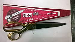 Madan Scissors Brass Handle 10 Inches or 252mm