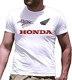 T-Shirt Maglietta Honda Africa Twin Personalizzata (l, Bianco)