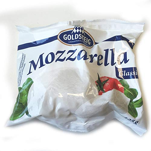 Goldsteig Mozzarella Cheese in Brine - 1x125g