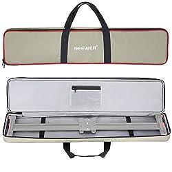 Neewer 86 Zentimenter Tragetasche für Videokamera Slider Dolly bis zu 80 Zentimenter, hellgrün wasserdicht 600D Elater
