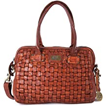KOMPANERO Cognac Ladies Handbag (Wendy)