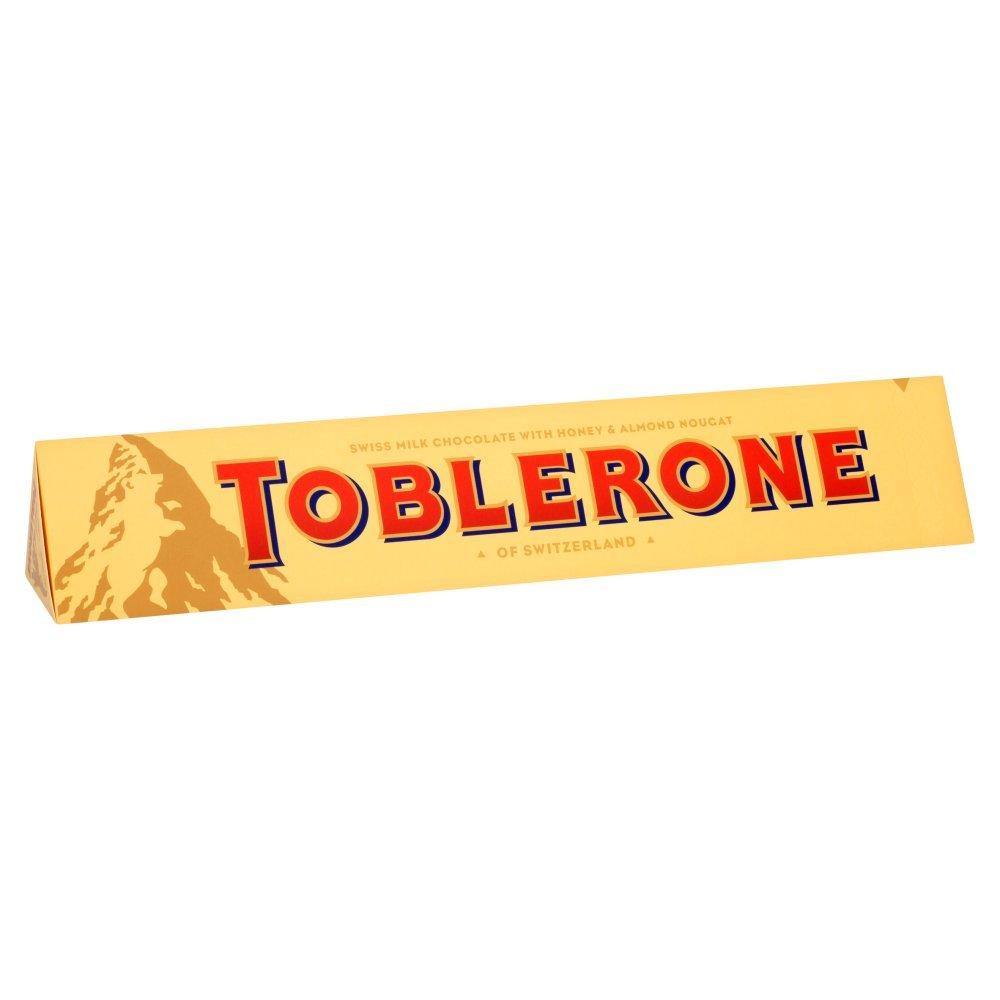 Toblerone Milch Schokoladenriegel 360 g (10er packung)