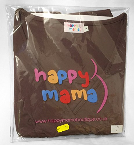 Happy Mama Femme maternité jolie top t-shirt grossesse tunique grossesse 940p Marine