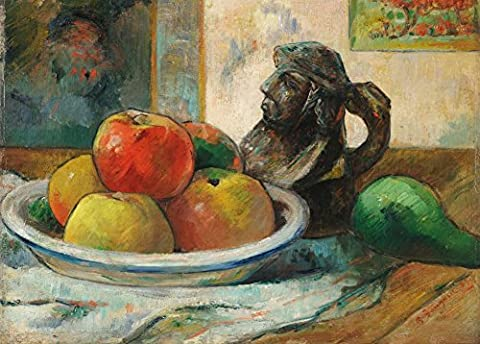 PAUL GAUGUIN 'Still Life with Apples, a Pear, and a
