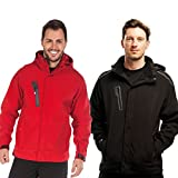 Regatta Herren Peak Zone Ii Lined Hooded Soft Shell Jacke, Schwarz, Jacket