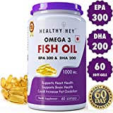 Best Fish Oil Pills - Healthyhey Nutrition Fish Oil - Omega 3 Mercury Review