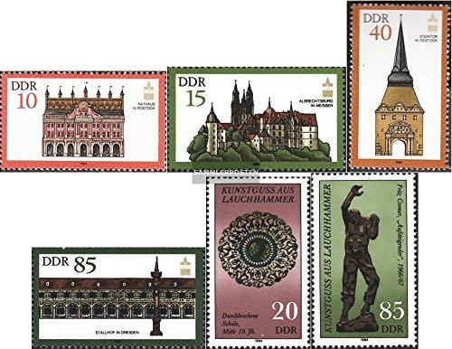 Prophila DDR 2869-2872,2874-2875 (kompl.Ausg.) 1984 ICOMOS, Lauchhammer (Briefmarken für Sammler)