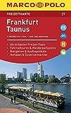 MARCO POLO Freizeitkarte Frankfurt/Taunus: Toeristische kaart 1:100 000 -