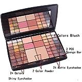 CFtrum 54 colori per makeup cosmetici professionali, includ ombretti fard cipria fondotinta#1