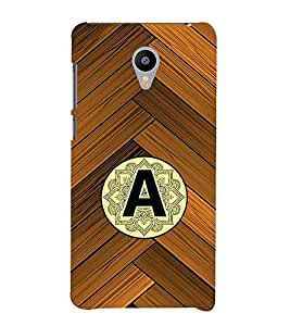 99sublimation vedic indian wooden alphabet A Designer Back Case Cover for Meizu M3 Note :: Meizu Note 3
