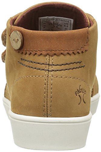 Faguo Unisex-Kinder Aspen Sneaker Braun - Marron (F1641 Camel)