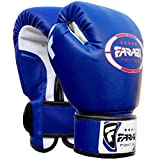 Gants de boxe junior enfants 4 oz Bleu Sparring trainning Punching Bag Pads Mitaines