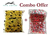 #2: Pets Empire Best Combo Offer dog chew sticks chicken flavor (500 GMS) + Pets Empire Dog Chew Sticks Mutton Flavor (500 GMS) pack of 2