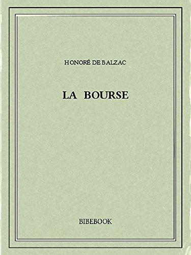 Couverture du livre La bourse