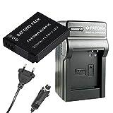 Ladegerät PATONA + Akku Premium DMW-BCM13 E Panasonic Lumix DMC-FT5 DMC-TS5 DMC-TZ37