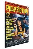 Pulp Fiction Film-Poster, gedrucktes Wandbild, Raum-Dekoration, Motiv: Cover Quentin Tarantino (Aufschrift nicht in deut