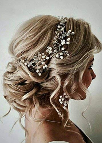 FXmimior - Juego de diadema para novia