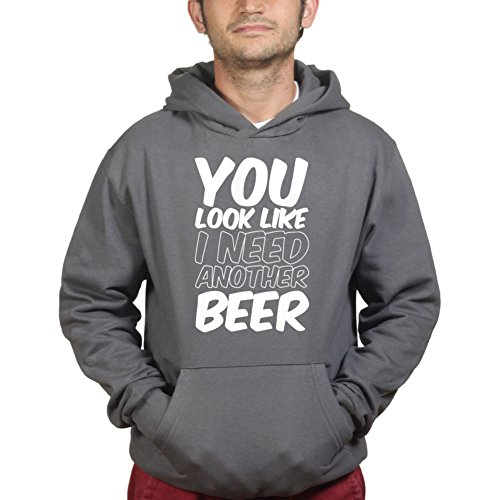 Kostüm Tisch Pong Bier - You Look Like I Need Another Beer Party Hen Stag Night Funny Kapuzenpullover