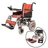 JL-Q Doppelmotor-Faltbare Elektro-Rollstuhlfahrer für ältere Menschen 12AH große Kapazität Batteriekoller Leichtbaustuhlfahrer Dual-Modus-Schalter-elektrisch/manuell