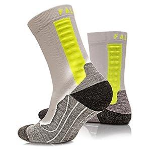 FALKE Achilles Herren Funktionssocken Health – massiert die Achillessehne während des Laufens und kann Schmerzen reduzieren -1 Paar- Größe 39-48, versch. Farben, Kompressionssocken
