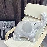 VClife Kissen Zierkissen Dekoartikel Kinder Baby Spielzeug Polyester Geschenk Schlafzimmer Bett Wohnzimmer Sofa Kinderzimmer Dekokissen Auto Büro Rückkissen Elefant