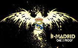 Infinite Arts Real Madrid (22inch x 14inch/56cm x 35cm) Silk Print Poster - Silk Printing - 7848AF