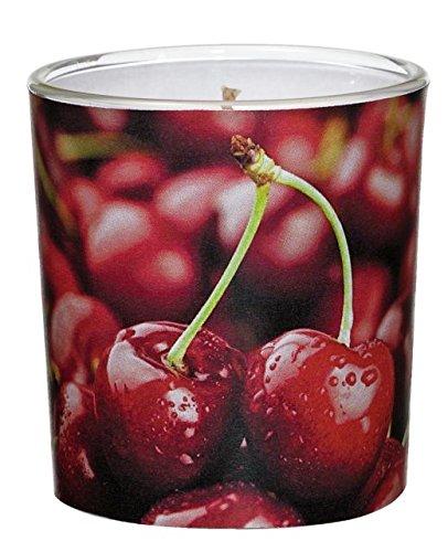 Villa Verde Bougie parfumée en Pot d.7,1 x h.7,8 cm Cerisier