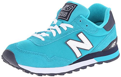New Balance Womens Classics Traditionnels Leather Trainers Turquoise