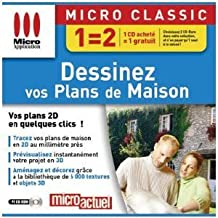 Micro Application - Dessinez vos plans de maison - PC - Neuf