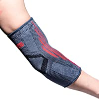 FREETOO Elbow Brace & Elbow Support Sleeve -GUARANTEED relief for Tennis elbow, Golfers Elbow, Arthritis, Injury recovery L