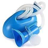 BESTOOL Pissoir Pee Flasche Bewegliche 2000 ML mit weiblichen Adapter für Krankenhaus Camping Car Reisen (blau)