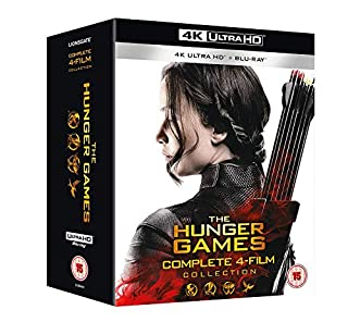 The Hunger Games Complete Collection 1-4 [4K UHD] [2018] [Blu-ray] (B07HHN8KTL) | Amazon Products