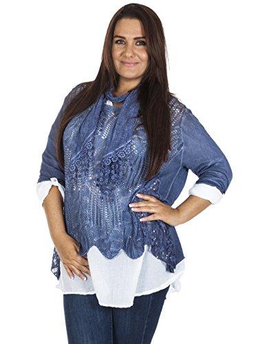 Love My Fashions -  Maglia a manica lunga  - Donna Navy blue