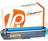Bubprint Toner kompatibel für Brother TN-246 C TN-242 TN246C für DCP-9017CDW DCP-9022CDW HL-3142CW HL-3152CDW HL-3172CDW MFC-9142CDN MFC-9332CDW Cyan