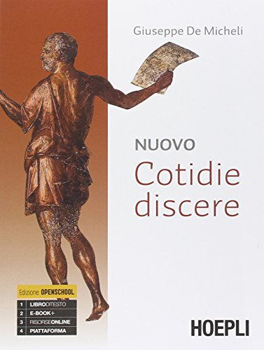 Nuovo cotidie discere. Grammatica. Con e-book. Con espansione online. Per i Licei