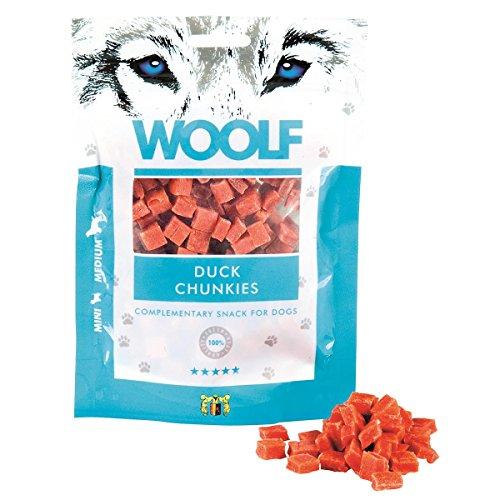 Hund Snacks Woolf 100g - Enten Stückchen