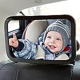 Best Unique bébé Sièges d'auto pour bébé - Rétroviseur Arrière Miroir de voiture pour bébé Rétroviseur Review